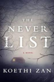 Koethi Zan, THE NEVER LIST